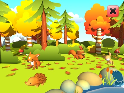 Forestpals Autumn - An educational adventure for preschoolers