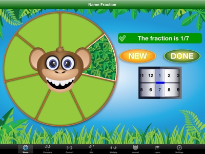 Jungle Fractions