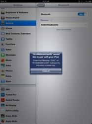 iPad How-to: Set Up a Bluetooth Wireless Keyboard to iPad