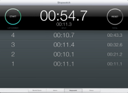 Clock Stopwatch for iPad