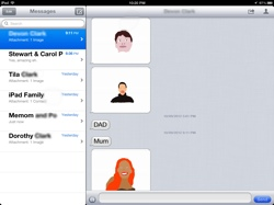 how to set up imessage on ipod touch